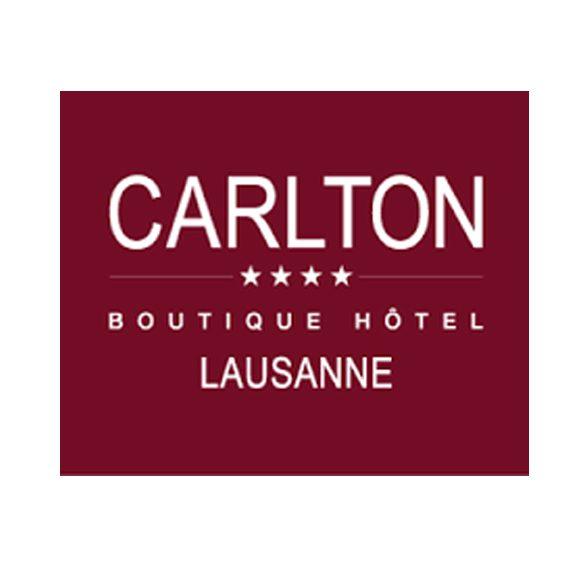 Carlton boutique hotel Lausanne company logo