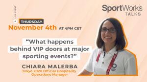 SportWorks TALK eith Chiara Malerba